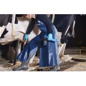 DeLaval Dělená zástěra dojiče - PVC modrá